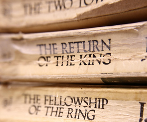 book, lord of the rings, and hobbit image
