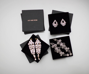 earrings, fashion, and outfit image
