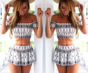 abs, blond, and fashion image