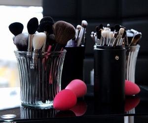 fashion, make up, and Brushes image
