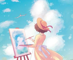 anime and the wind rises image