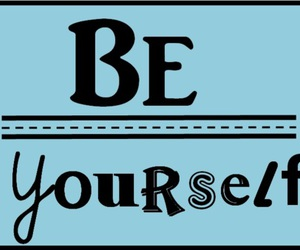 be, be yourself, and colours image