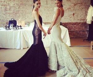 beautiful, dresses, and model image