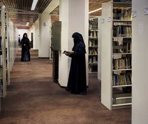 books, muslim, and library image