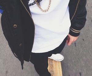 fashion, skate, and style image