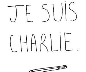 je suis charlie, paris, and jesuischarlie image