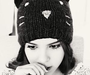 yuya, black and white, and yuya  image