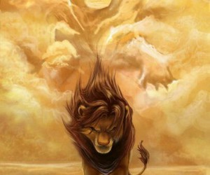 the power of the lion image