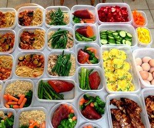health, motivation, and food prep image