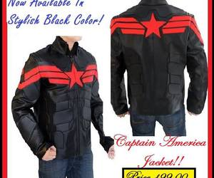 clothing, winters, and captainamerica image