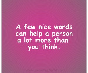 nice and words image