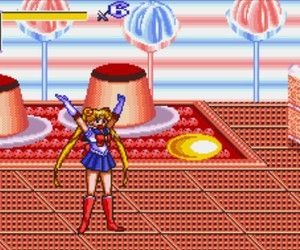 sailor moon and game image