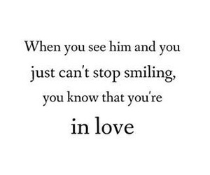 him, smile, and love image