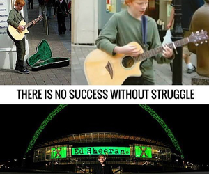 ed sheeran, success, and struggle image