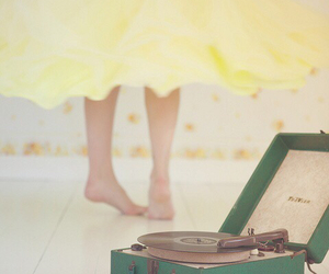 dance, music, and vintage image