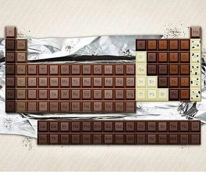 chocolate, computer, and snack image