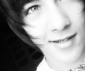 black and white, boy, and cute image