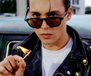 johnny depp, cry baby, and boy image