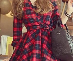 style, beautiful, and dress image