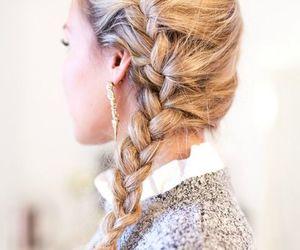 braid, pretty, and elegant image