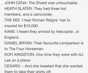 mean girls, wwe, and the shield image