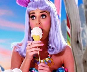 katy perry, california gurls, and ice cream image