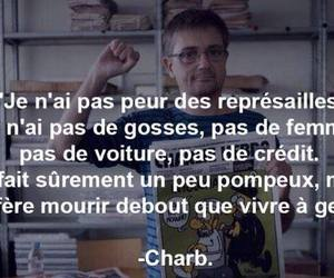liberte, not afraid, and je suis charlie image