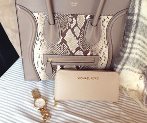 bag, celine, and Michael Kors image