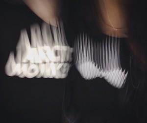 arctic monkeys, black, and grunge image