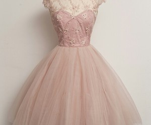 dress, pink, and homecoming dresses image