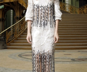 florence and the machine, florence welch, and paris fashion week image