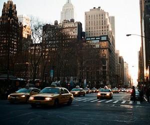 cars, city, and ny image