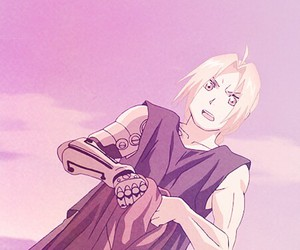 anime, edward elric, and automail image