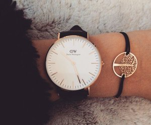 girls, hand, and watch image