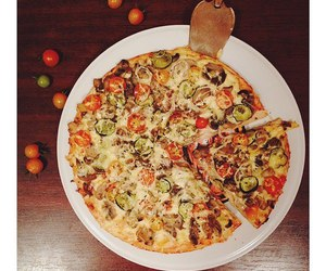 fastfood, food, and pizza image