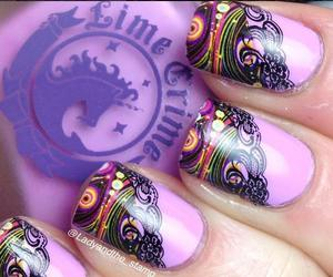 nails, style, and beautyful image