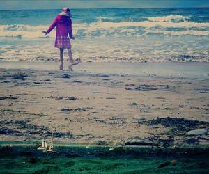beach, blend, and merge image