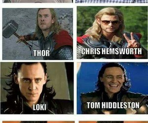 Avengers, thor, and loki image