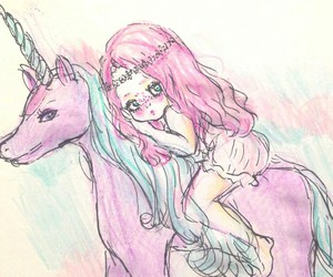 Dream and unicorn image