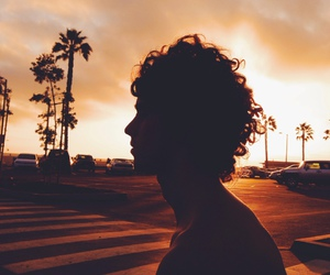 summer, boy, and beach image