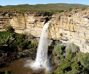 south africa, waterfall, and limpopo image