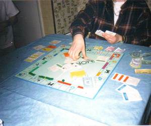 monopoly, game, and hipster image