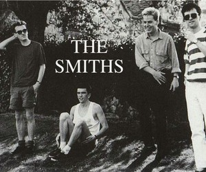 the smiths, music, and black and white image