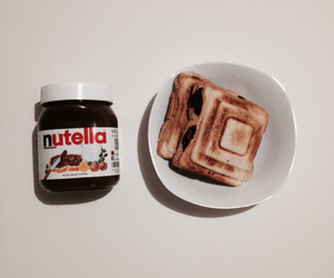 food, high, and nutella image