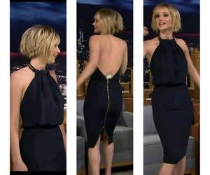 black, dress, and elegant image