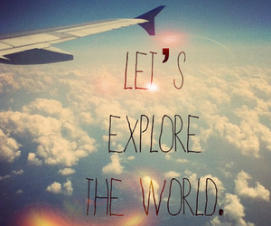 world, sky, and explore image