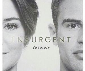 four, insurgent, and tris image
