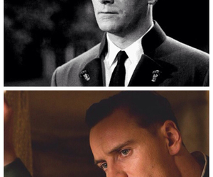 whoa, michael fassbender, and christopher plummer image
