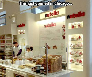 nutella, food, and chicago image