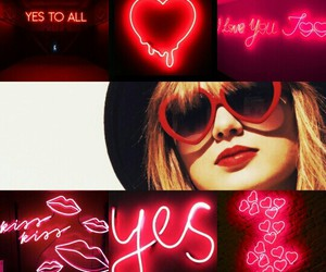 1989, blank space, and neon image